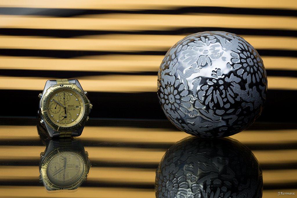 Boule et montre