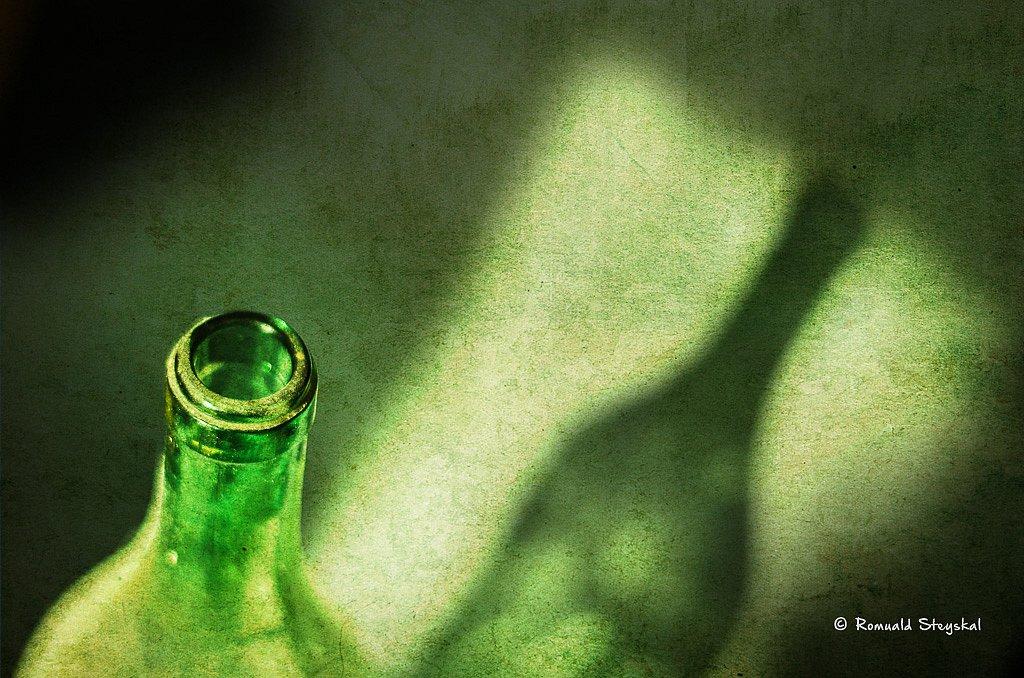 L'ombre de la bouteille