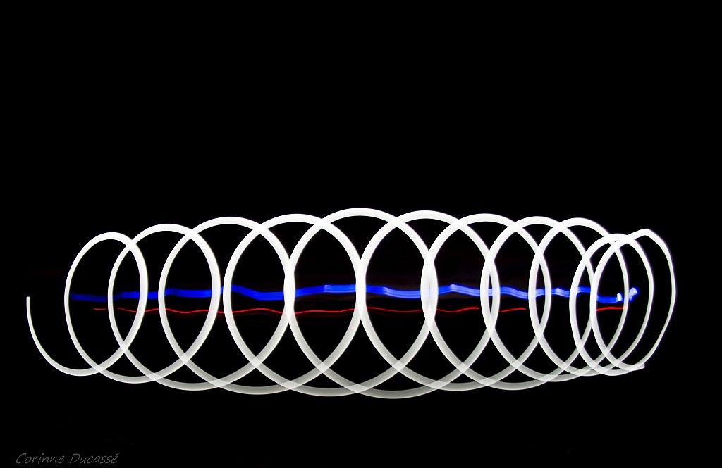 Dans la spirale blanche