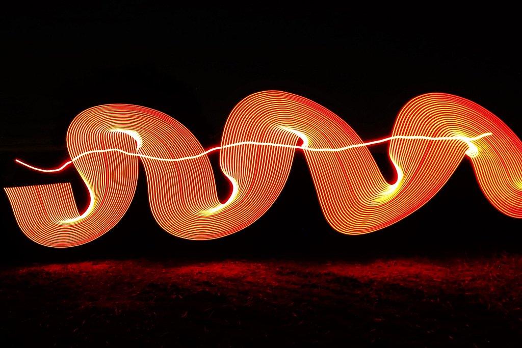 Serpent de lumière