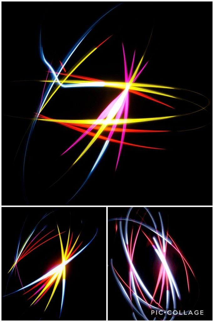 Lumières dansantes