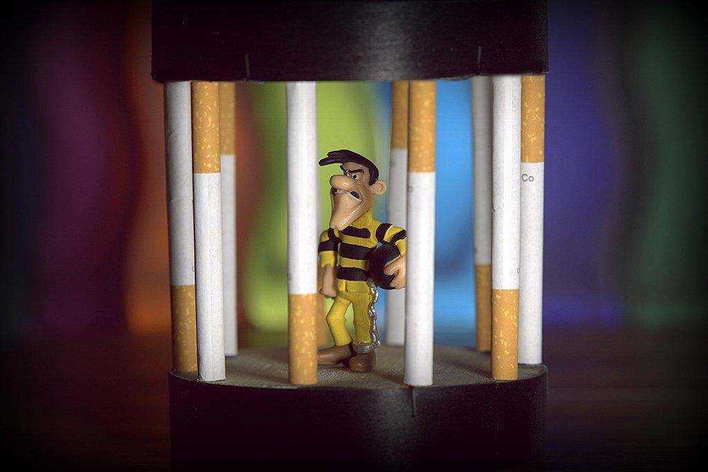 Prisonnier du tabac