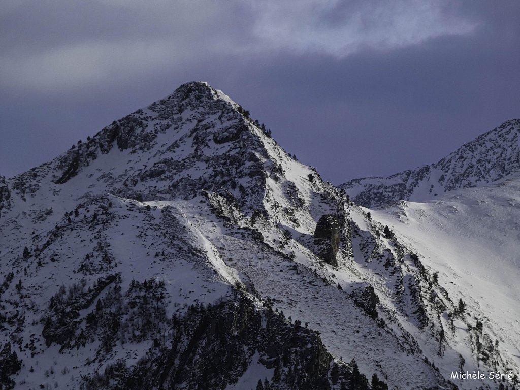 Eclaircie sur Cap du Mont