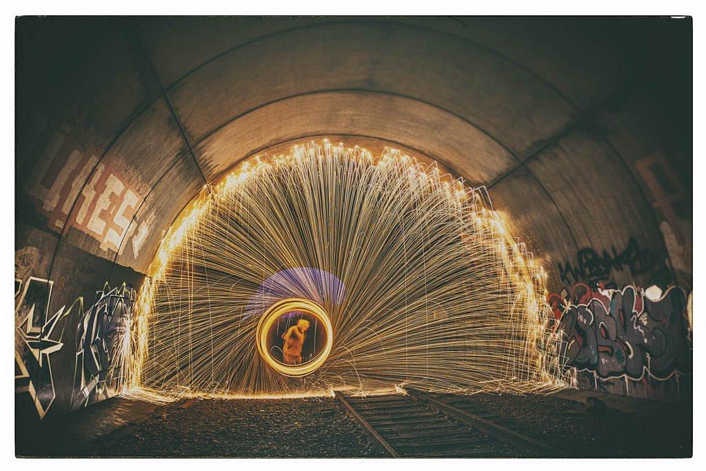Tunel de lumière